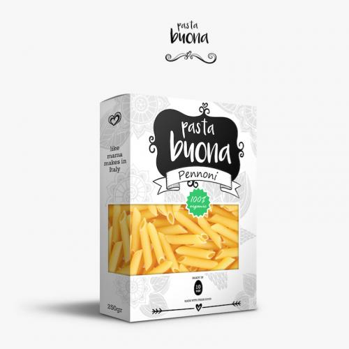 Pasta Package Design Graphic Design Melbourne | Creative Lads